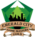 emerald city game masters guild logo