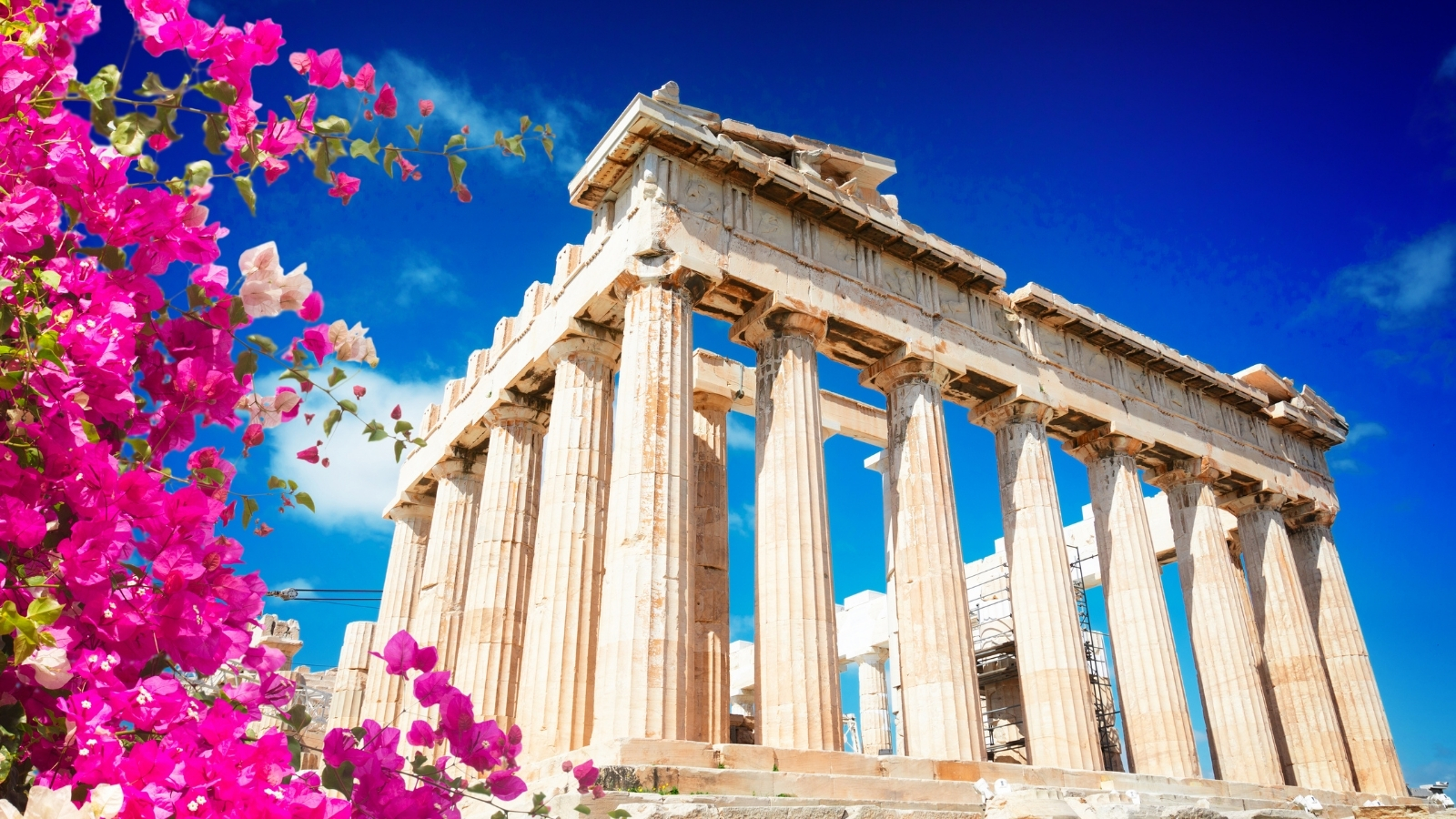 the parthenon; athens, greece